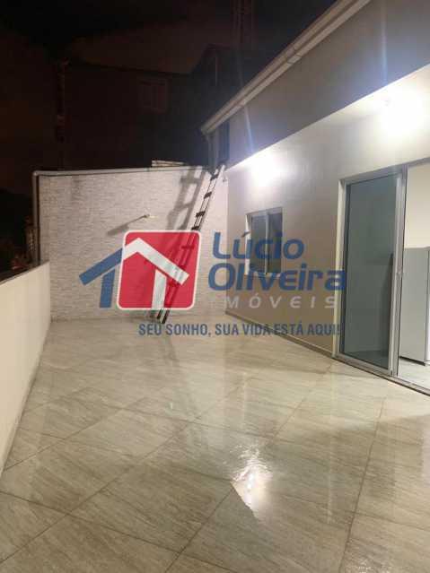 21 sacada - Casa à venda Rua Doutor Nicanor,Inhaúma, Rio de Janeiro - R$ 740.000 - VPCA50029 - 22