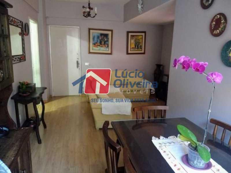 2-Sala 2 ambiente - Apartamento Rua Florianópolis,Praça Seca, Rio de Janeiro, RJ À Venda, 2 Quartos, 68m² - VPAP21427 - 3