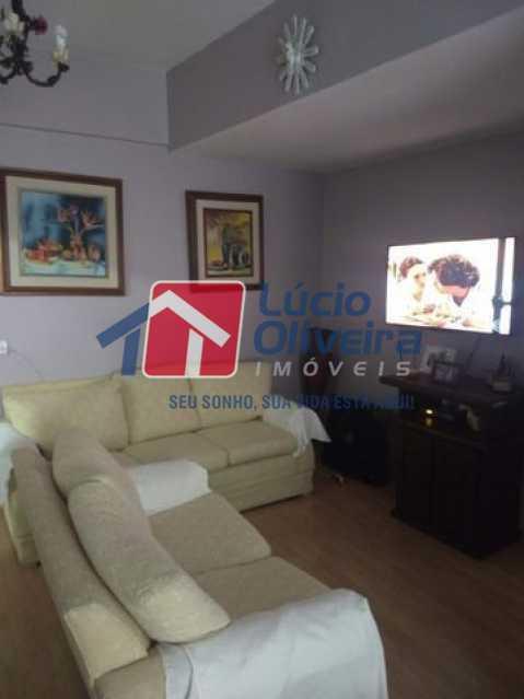 3-Sala estar - Apartamento Rua Florianópolis,Praça Seca, Rio de Janeiro, RJ À Venda, 2 Quartos, 68m² - VPAP21427 - 4