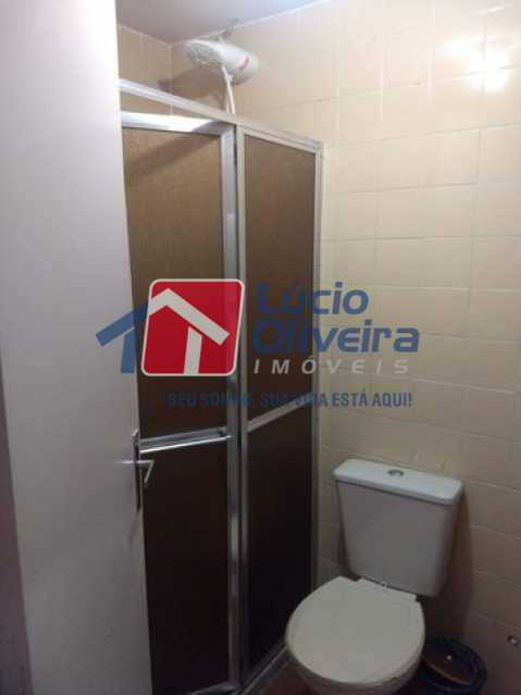 7-Banheiro Social - Apartamento Rua Florianópolis,Praça Seca, Rio de Janeiro, RJ À Venda, 2 Quartos, 68m² - VPAP21427 - 8
