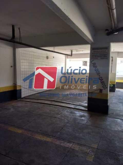 11-Garagem.. - Apartamento Rua Florianópolis,Praça Seca, Rio de Janeiro, RJ À Venda, 2 Quartos, 68m² - VPAP21427 - 12