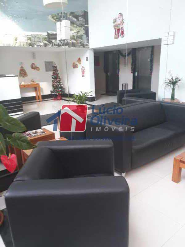 4-Sala espera - Apartamento à venda Rua Cerqueira Daltro,Cascadura, Rio de Janeiro - R$ 270.000 - VPAP21428 - 5