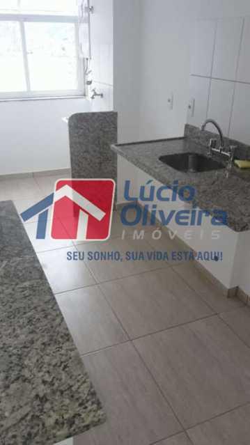 10-Area Serviço. - Apartamento à venda Rua Cerqueira Daltro,Cascadura, Rio de Janeiro - R$ 270.000 - VPAP21428 - 11