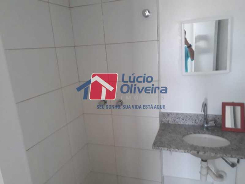 12-Banheiro social... - Apartamento à venda Rua Cerqueira Daltro,Cascadura, Rio de Janeiro - R$ 270.000 - VPAP21428 - 13