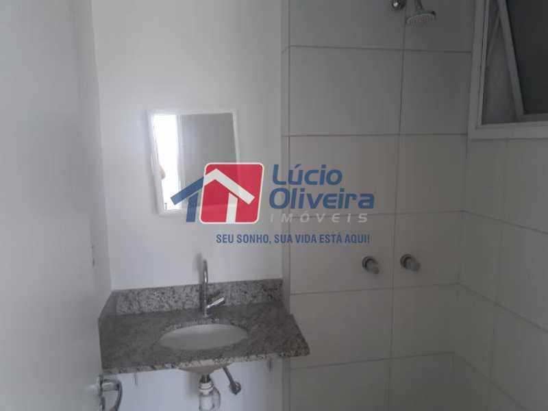 13-Banheiro Social - Apartamento à venda Rua Cerqueira Daltro,Cascadura, Rio de Janeiro - R$ 270.000 - VPAP21428 - 14
