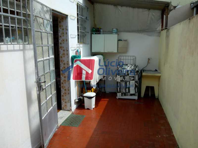 18 - Area. - Casa à venda Rua Marambaia,Irajá, Rio de Janeiro - R$ 300.000 - VPCA20266 - 19