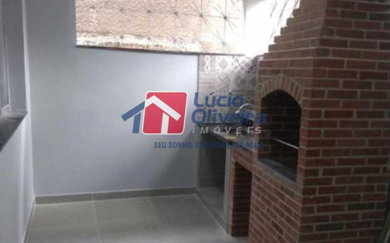 8 area goumet - Casa 3 quartos à venda Olaria, Rio de Janeiro - R$ 560.000 - VPCA30196 - 11