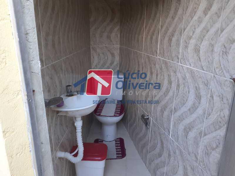 19- BH churrasqueira - Apartamento Avenida Antônio Ferraz,Cordovil, Rio de Janeiro, RJ À Venda, 1 Quarto, 50m² - VPAP10149 - 18