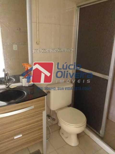 7-Banheiro Social - Apartamento Rua Paquequer,Abolição, Rio de Janeiro, RJ À Venda, 2 Quartos, 61m² - VPAP21434 - 9