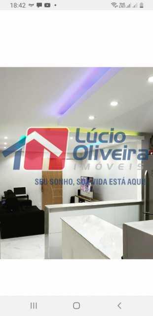 6-Sala e cozinha americana - Casa à venda Rua Fernandes Gusmão,Irajá, Rio de Janeiro - R$ 220.000 - VPCA20269 - 7