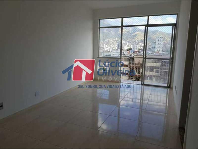 1 Sala e varanda - Apartamento à venda Rua Coração de Maria,Méier, Rio de Janeiro - R$ 345.000 - VPAP21436 - 1