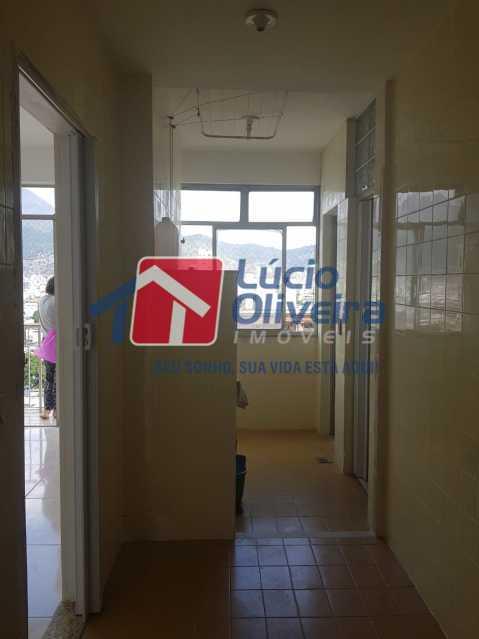 14-Area serviço - Apartamento à venda Rua Coração de Maria,Méier, Rio de Janeiro - R$ 345.000 - VPAP21436 - 15