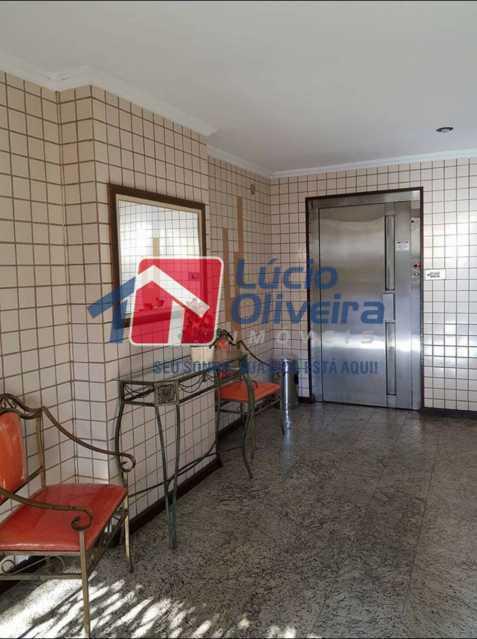 20-Recepção interna predio - Apartamento à venda Rua Coração de Maria,Méier, Rio de Janeiro - R$ 345.000 - VPAP21436 - 21