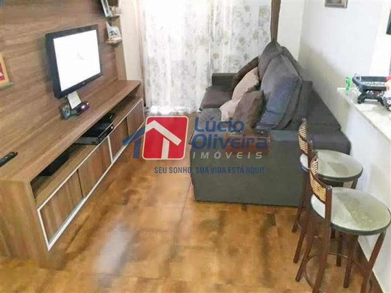01 - Sala - Apartamento à venda Rua Quito,Penha, Rio de Janeiro - R$ 450.000 - VPAP30343 - 1