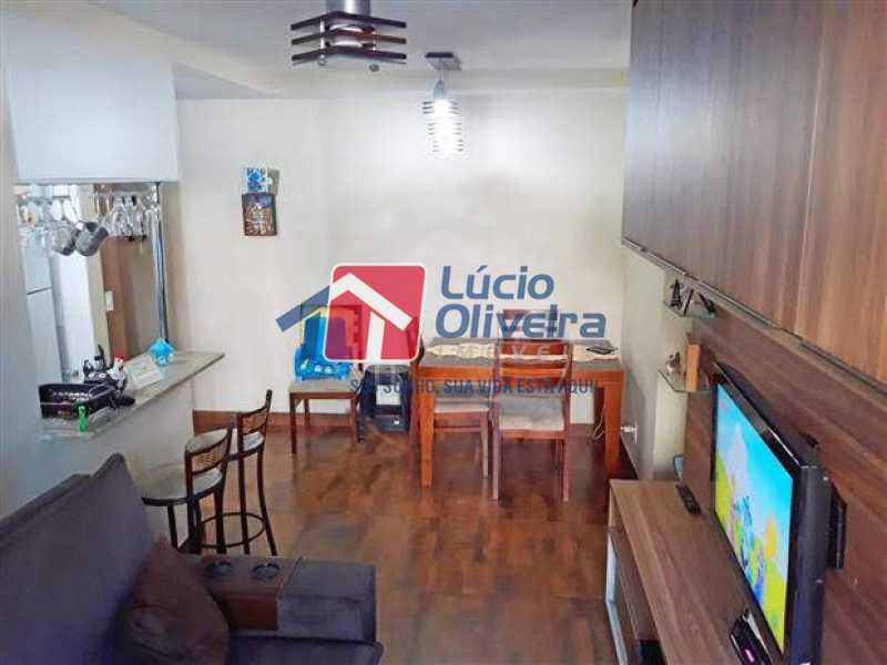 02 - Sala - Apartamento à venda Rua Quito,Penha, Rio de Janeiro - R$ 450.000 - VPAP30343 - 3