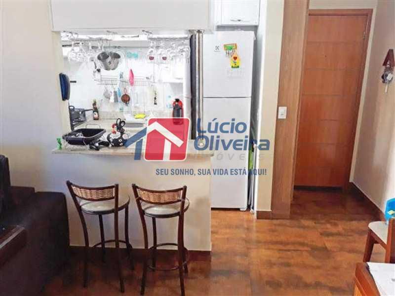 04 - Sala - Apartamento à venda Rua Quito,Penha, Rio de Janeiro - R$ 450.000 - VPAP30343 - 5
