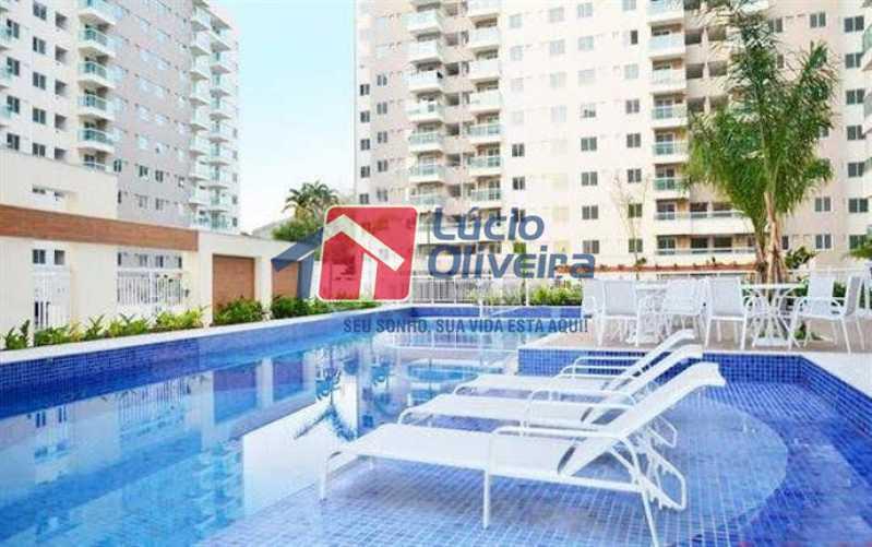 20 - piscina - Apartamento à venda Rua Quito,Penha, Rio de Janeiro - R$ 450.000 - VPAP30343 - 21