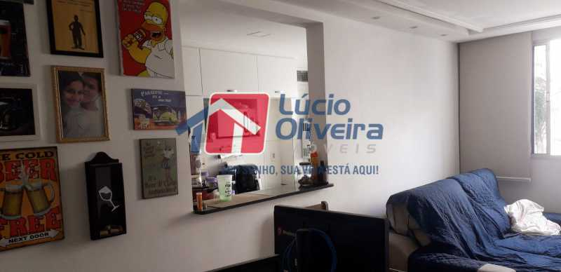 1- Sala ambiente - Apartamento 2 quartos à venda Cordovil, Rio de Janeiro - R$ 185.000 - VPAP21437 - 1