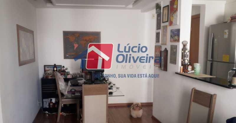 4-Sala com cozinha - Apartamento 2 quartos à venda Cordovil, Rio de Janeiro - R$ 185.000 - VPAP21437 - 5