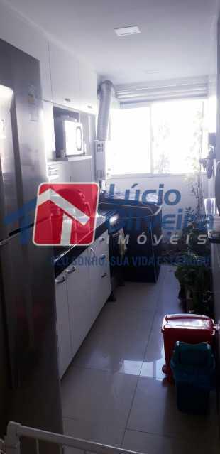 9-Cozinha - Apartamento 2 quartos à venda Cordovil, Rio de Janeiro - R$ 185.000 - VPAP21437 - 10