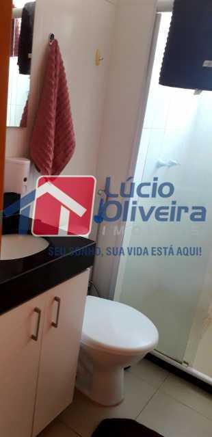 10-Banheiro social armario - Apartamento 2 quartos à venda Cordovil, Rio de Janeiro - R$ 185.000 - VPAP21437 - 11
