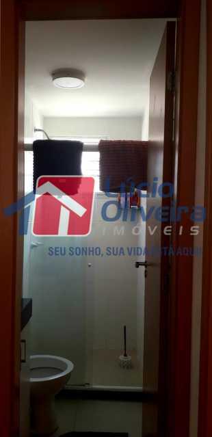 11-Banheiro social - Apartamento 2 quartos à venda Cordovil, Rio de Janeiro - R$ 185.000 - VPAP21437 - 12
