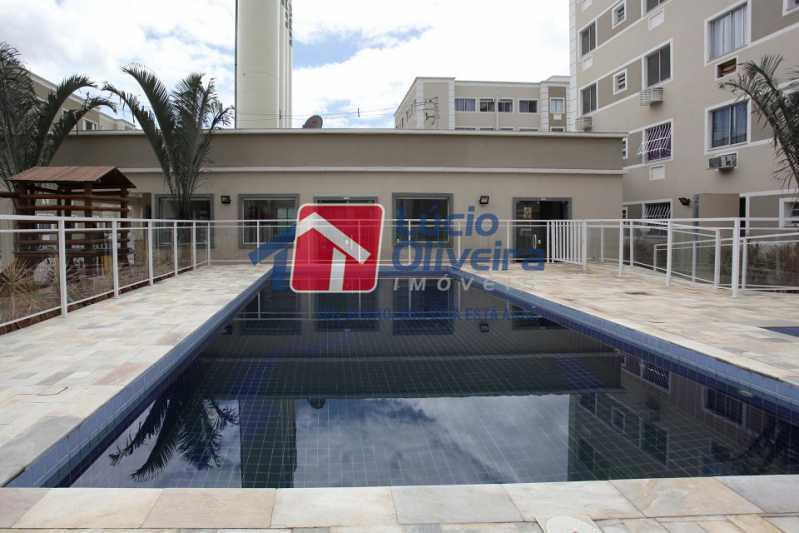 13-Piscina Area lazer - Apartamento 2 quartos à venda Cordovil, Rio de Janeiro - R$ 185.000 - VPAP21437 - 14