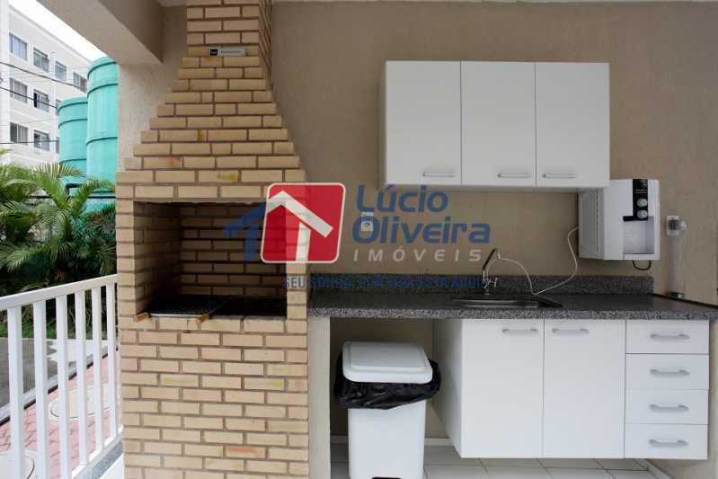 18-Churrasqueira condominio - Apartamento 2 quartos à venda Cordovil, Rio de Janeiro - R$ 185.000 - VPAP21437 - 19