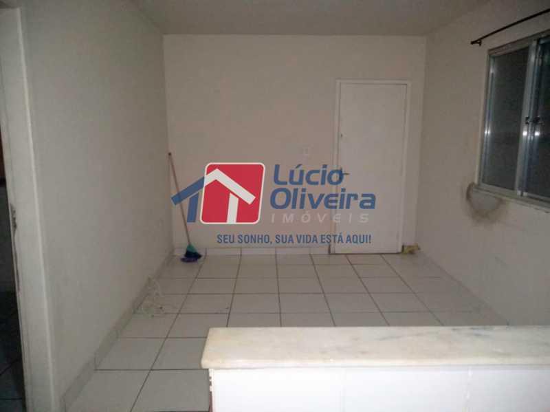01 - Sala - Apartamento à venda Rua Arvoredo,Higienópolis, Rio de Janeiro - R$ 175.000 - VPAP10152 - 1
