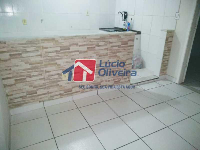 02 - Cozinha - Apartamento à venda Rua Arvoredo,Higienópolis, Rio de Janeiro - R$ 175.000 - VPAP10152 - 3