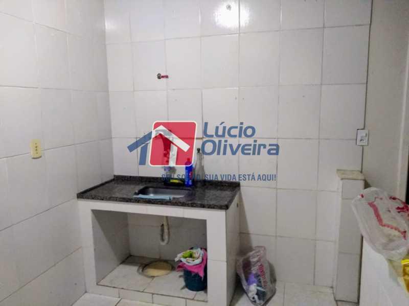 03 - Cozinha - Apartamento Rua Arvoredo,Higienópolis, Rio de Janeiro, RJ À Venda, 1 Quarto, 30m² - VPAP10152 - 4