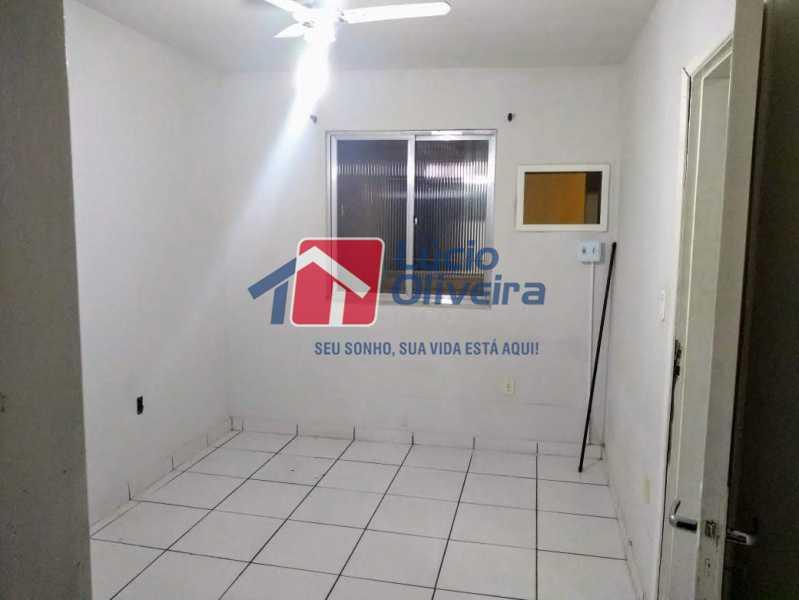 05 - Quarto - Apartamento Rua Arvoredo,Higienópolis, Rio de Janeiro, RJ À Venda, 1 Quarto, 30m² - VPAP10152 - 6