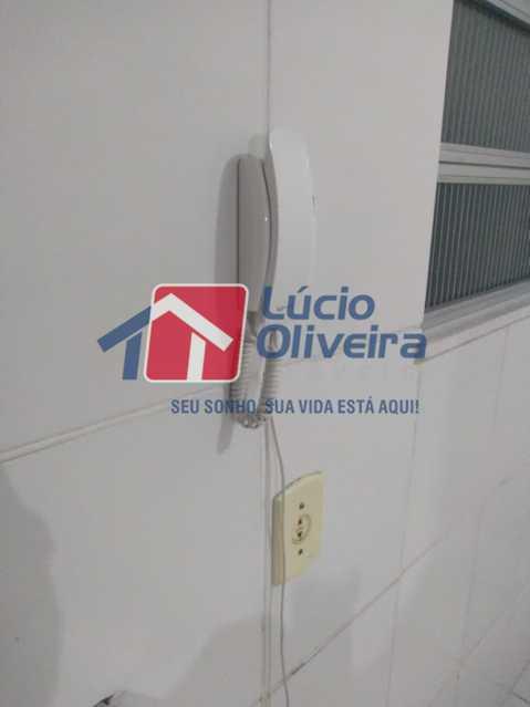 09- Interfone - Apartamento à venda Rua Arvoredo,Higienópolis, Rio de Janeiro - R$ 175.000 - VPAP10152 - 10