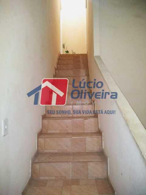 10- Escada de Acesso - Apartamento Rua Arvoredo,Higienópolis, Rio de Janeiro, RJ À Venda, 1 Quarto, 30m² - VPAP10152 - 11