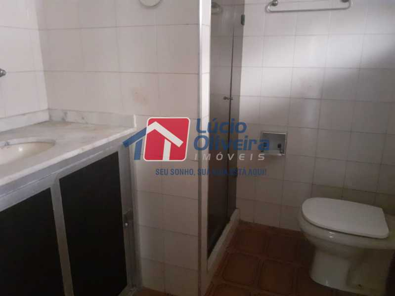 9-Banheiro pia e blindex - Casa à venda Rua Taborari,Braz de Pina, Rio de Janeiro - R$ 145.000 - VPCA10029 - 10