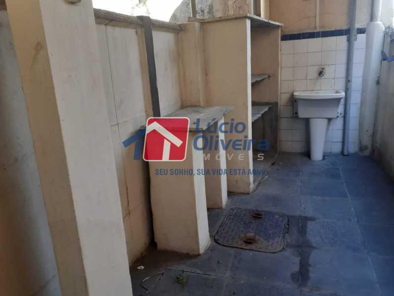 14-Lavanderia - Casa à venda Rua Taborari,Braz de Pina, Rio de Janeiro - R$ 145.000 - VPCA10029 - 15