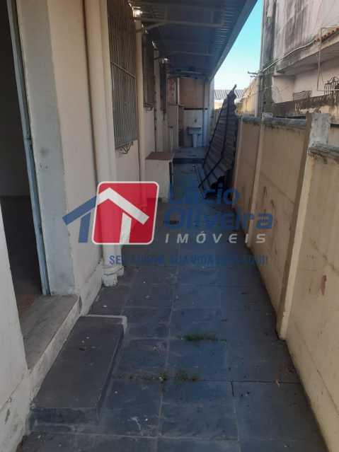 15-Area externa fundos - Casa à venda Rua Taborari,Braz de Pina, Rio de Janeiro - R$ 145.000 - VPCA10029 - 16