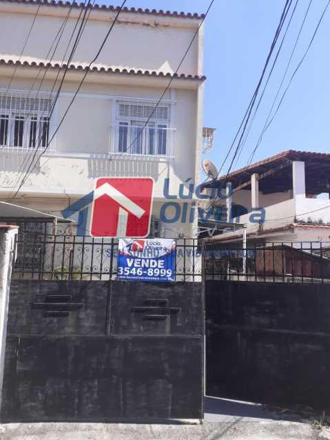 16-Frente Imovel - Casa à venda Rua Taborari,Braz de Pina, Rio de Janeiro - R$ 145.000 - VPCA10029 - 17