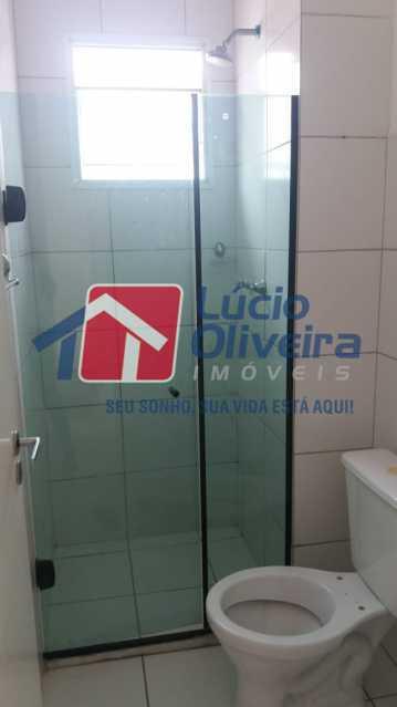 12-Banheiro blindex - Apartamento à venda Rua Cordovil,Parada de Lucas, Rio de Janeiro - R$ 200.000 - VPAP30345 - 13