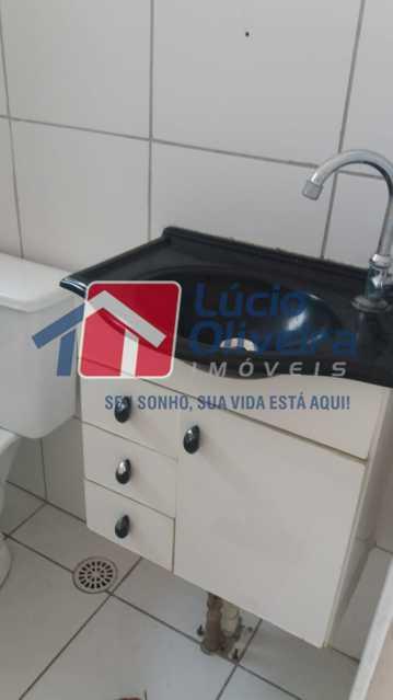 13-Banheiro armário - Apartamento à venda Rua Cordovil,Parada de Lucas, Rio de Janeiro - R$ 200.000 - VPAP30345 - 14