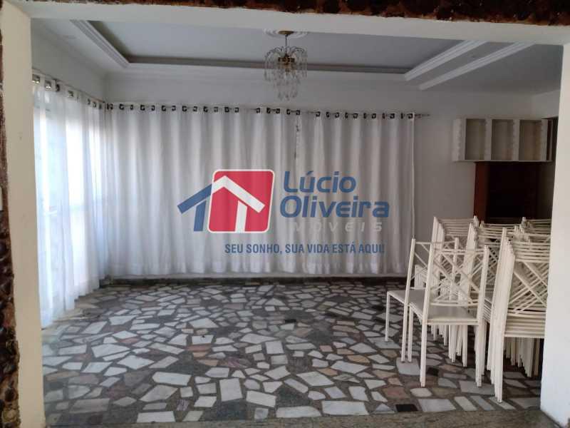 2 hall primeiro piso - Casa Rua Professor Plínio Bastos,Olaria, Rio de Janeiro, RJ À Venda, 4 Quartos, 394m² - VPCA40064 - 3