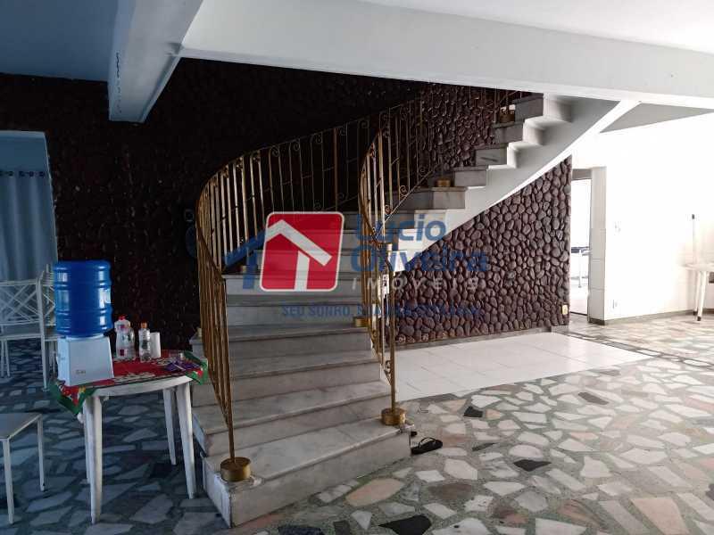 3 Hall acesso ao primeiroar - Casa Rua Professor Plínio Bastos,Olaria, Rio de Janeiro, RJ À Venda, 4 Quartos, 394m² - VPCA40064 - 4