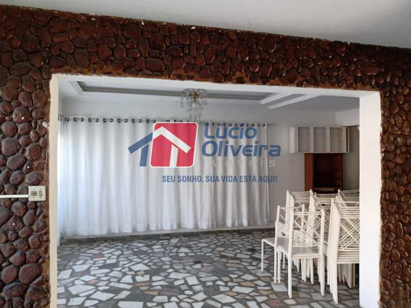 3 Hall entrada - Casa Rua Professor Plínio Bastos,Olaria, Rio de Janeiro, RJ À Venda, 4 Quartos, 394m² - VPCA40064 - 5