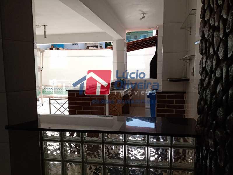 5  area gourmet - Casa Rua Professor Plínio Bastos,Olaria, Rio de Janeiro, RJ À Venda, 4 Quartos, 394m² - VPCA40064 - 7