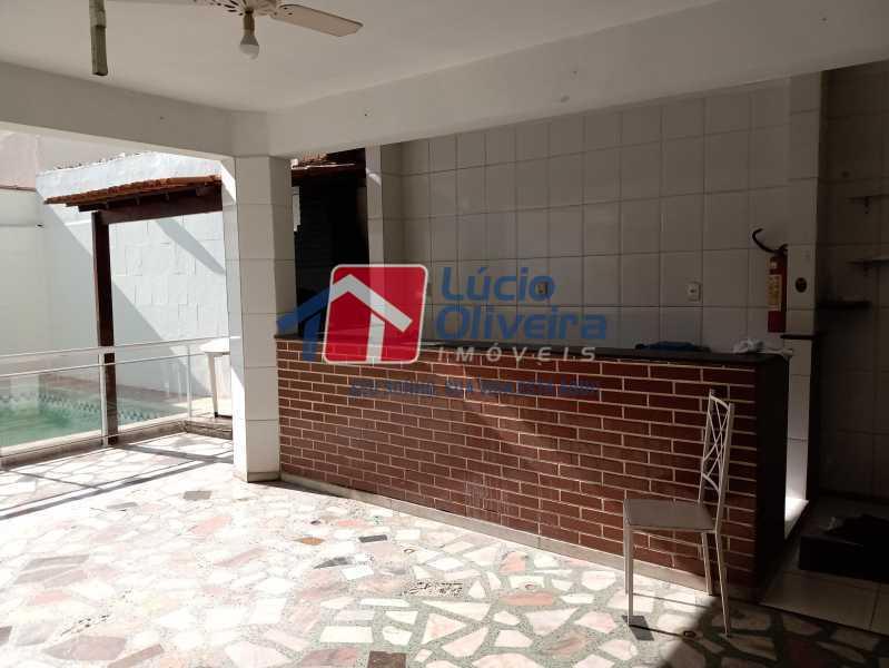 7 Area gourmet - Casa Rua Professor Plínio Bastos,Olaria, Rio de Janeiro, RJ À Venda, 4 Quartos, 394m² - VPCA40064 - 9
