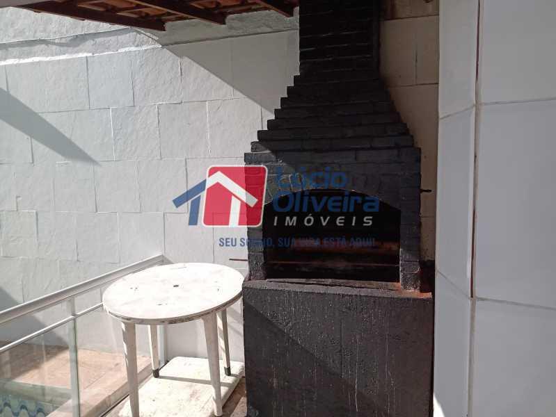 9 Churrasqueira - Casa Rua Professor Plínio Bastos,Olaria, Rio de Janeiro, RJ À Venda, 4 Quartos, 394m² - VPCA40064 - 11