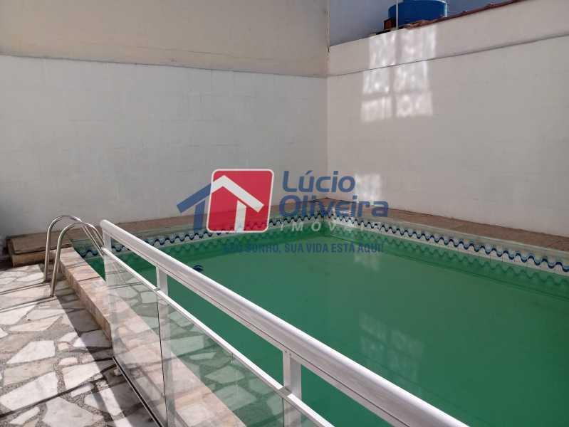10 Piscina - Casa Rua Professor Plínio Bastos,Olaria, Rio de Janeiro, RJ À Venda, 4 Quartos, 394m² - VPCA40064 - 12