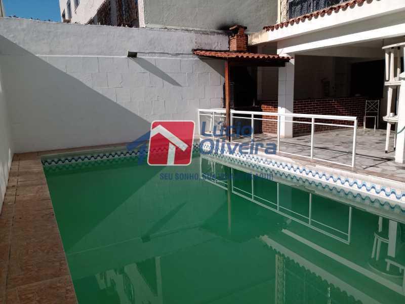 11 Piscina - Casa Rua Professor Plínio Bastos,Olaria, Rio de Janeiro, RJ À Venda, 4 Quartos, 394m² - VPCA40064 - 13