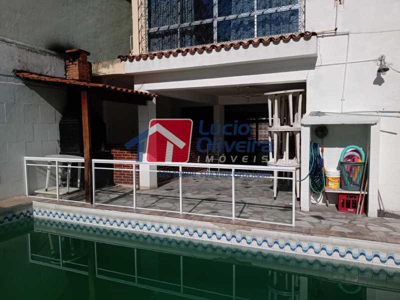 12 PISCINA E AREA EXTERNA - Casa Rua Professor Plínio Bastos,Olaria, Rio de Janeiro, RJ À Venda, 4 Quartos, 394m² - VPCA40064 - 14