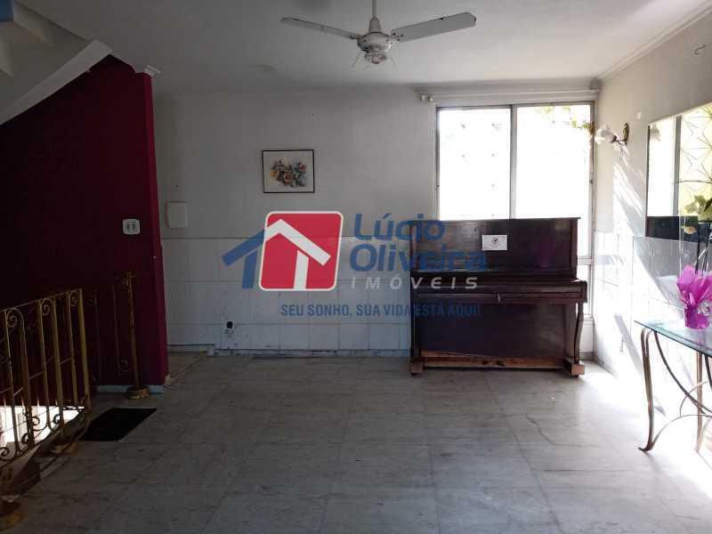 13 salao, segundo piso - Casa Rua Professor Plínio Bastos,Olaria, Rio de Janeiro, RJ À Venda, 4 Quartos, 394m² - VPCA40064 - 15